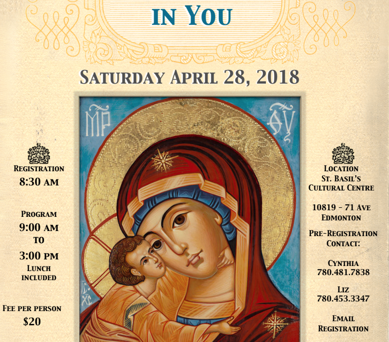 """The St. Basil UCWLC """"One Day Retreat"""" """"Jesus I Trust in You"""""""
