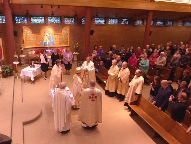 A gentle breeze offered by the Holy Spirit: Sub-deacons ordination in Calgary