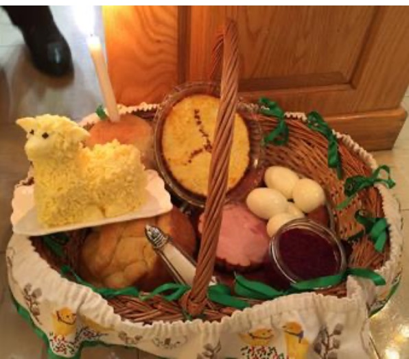 What's in Your Basket? The Symbolism of the Easter (Pascha) Basket.